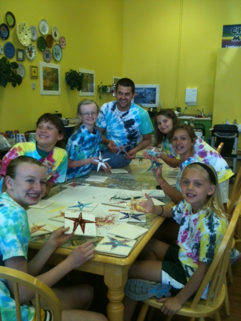 Fun at Summer Art Camp